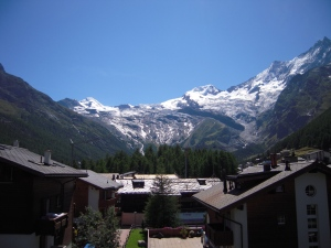 View Mountains of Saas Fee, EGS 2012