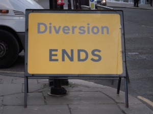 Diversion Ends
