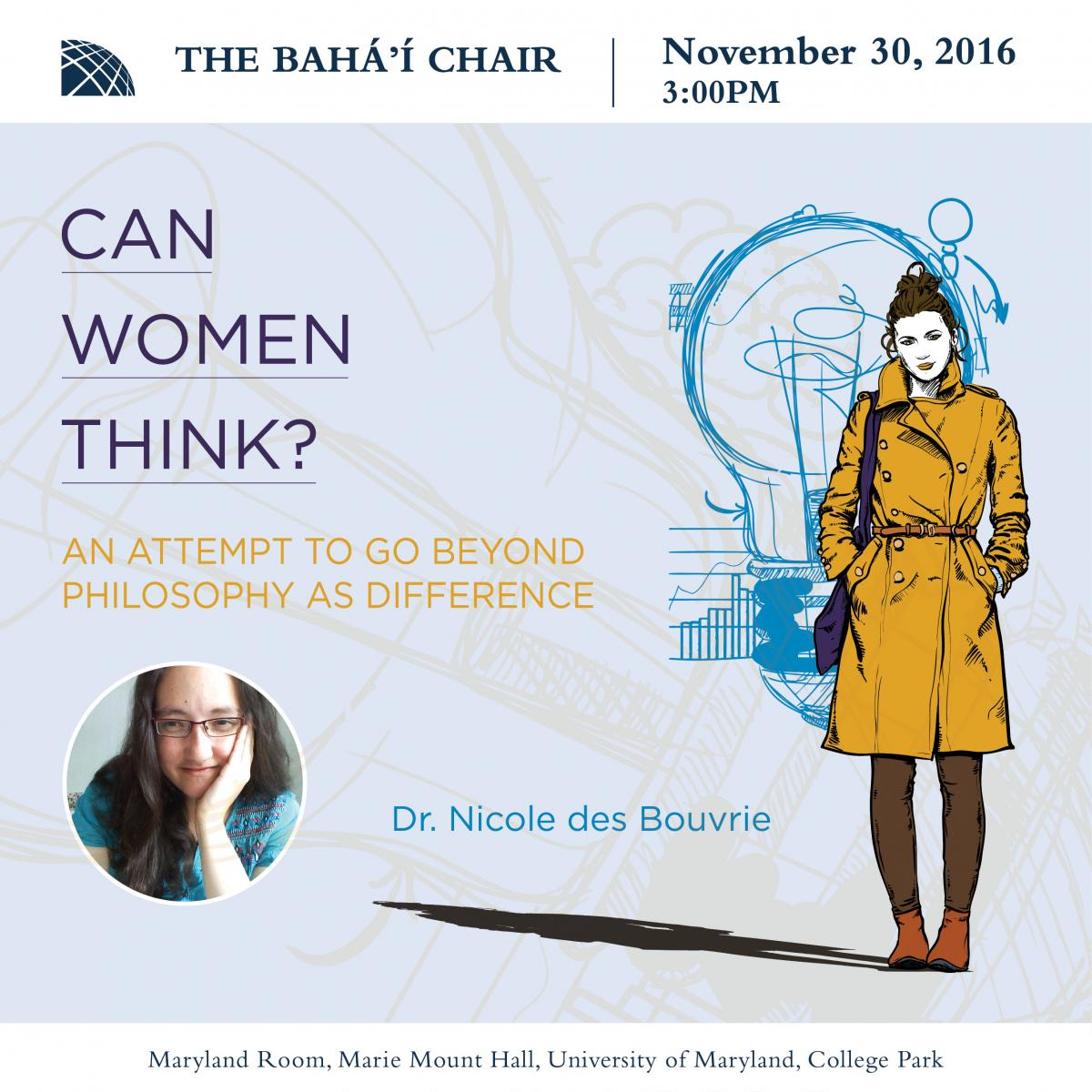 Can Women Think? A Contemplation and anInvitation